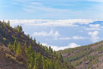 Im Hochgebirge über dem Wolkenmeer - Teneriffa