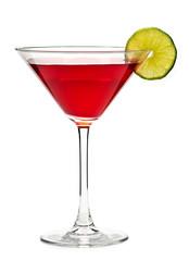 Cosmopolitan cocktail drink