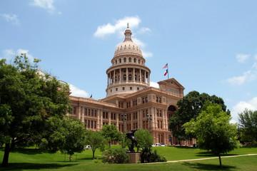 Aluminium Prints Texas State Capitol Building in Downtown Austin, Texas