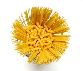 Pasta in a crude kind