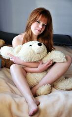 pretty redheaded girl