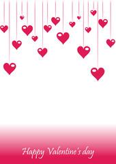 Romantic valentine background