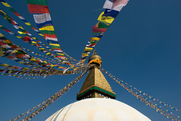 Boudhanath in Katymandu,Nepal