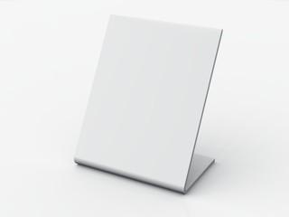 Blanko Tisch Schild