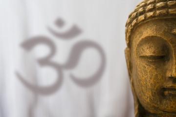 Om sign 4 Buddha