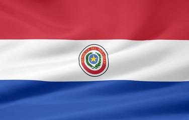 Flagge von Paraguay