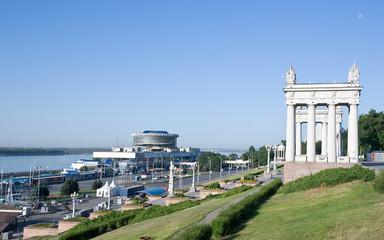 The central quay of Volgograd