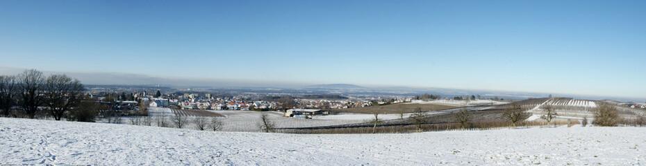 Winterlandschaft - Tettnang