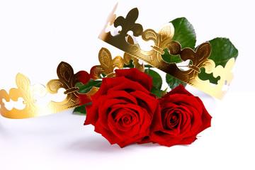 deux roses pour un royaume