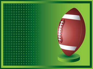 football green checkered banner