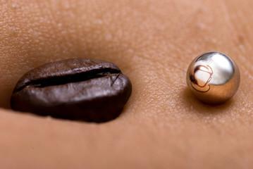 Ombelico con caffè