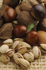 Frutta mista - Giuggiole mandorle castagne pistacchi