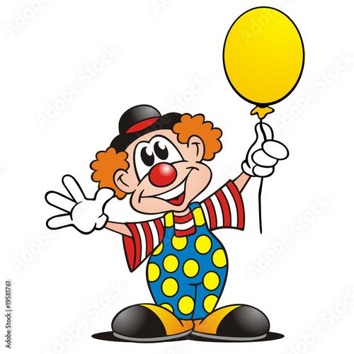Clown Mit Luftballon Stockfotos Und Lizenzfreie Bilder Auf Fotolia