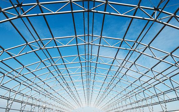 metal construction framework