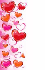 Heart design background
