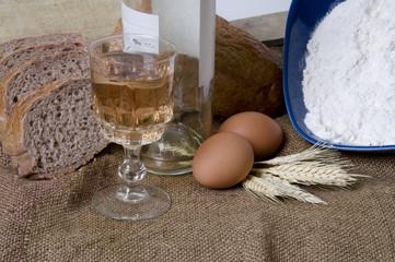 Making bread series