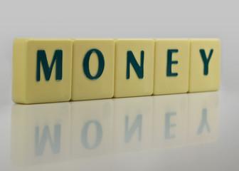 Buchstaben Money