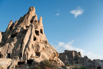 Churches in rock in Cappadocia