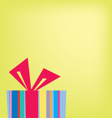 modern abstract gift background