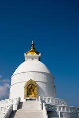 World Peace Pagoda in Pokhara,Nepal