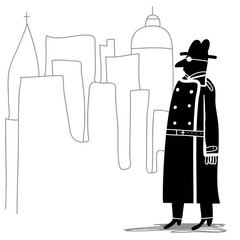 spy in the city