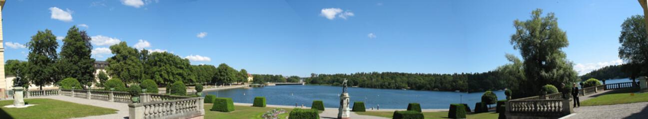 Drottningholm's castle (Sweden, Stockholm)