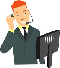 opérateur téléphonique
