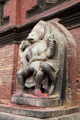 Hindu Diety at Patan Durbar Square, Nepal