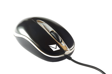 e-mail mouse with symbol for mail in button