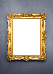 Ornate picture frame