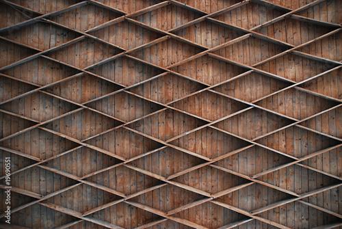 Kassettendecke Konstruktion Aus Holz Stock Photo And Royalty Free