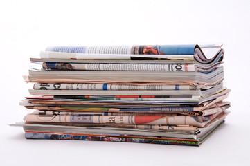 giornali stampa informazione news pacco