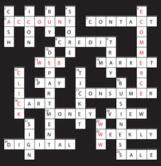 Internet Crossword - www, ecommerce, account, etc.