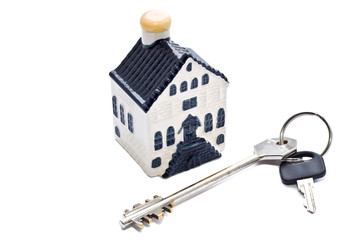 Small  house and key