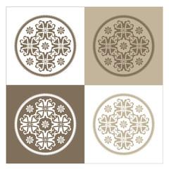 Four varied background designs.