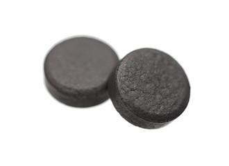 Medical tablets  absorbent carbon