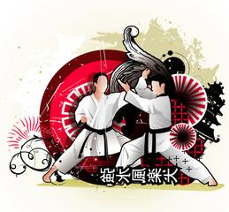 Japan character vector