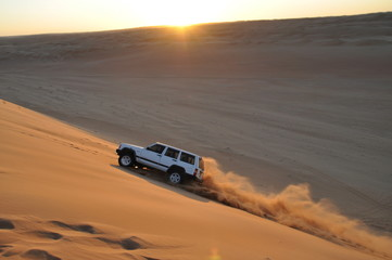 Offroad in der Wüste