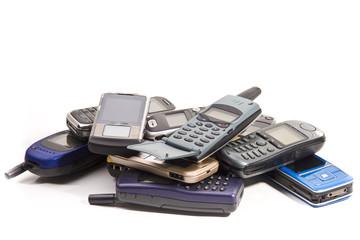 Alte Handys wd408