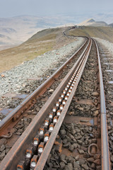 Rack and Pinion Track on the Mountain