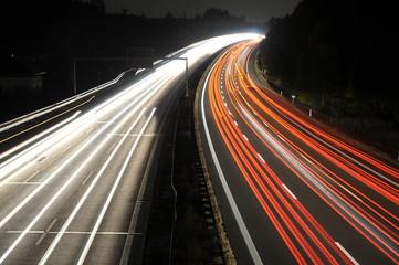 autobahn light lines
