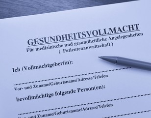 Vollmacht - Buy this stock photo and explore similar images at Adobe ...