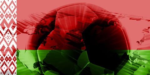 Belarus flag soccer