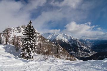 Valle d'Aosta, Morgex, Monte Bianco