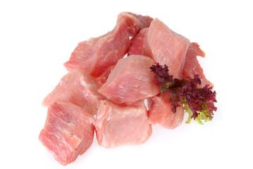 Schweinefleisch roh - pork raw 13