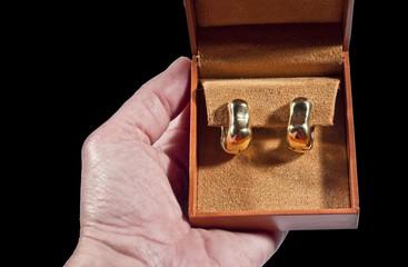 orecchini d\'oro