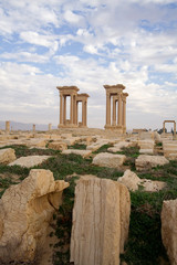 Tetrapylon in Palmyra