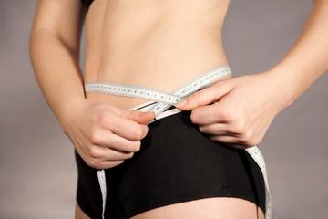 Diät - Bauchumfang messen