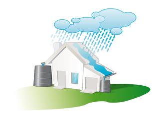 recuperateur d'eau de pluie