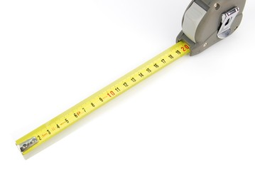 Retractable steel tape measure